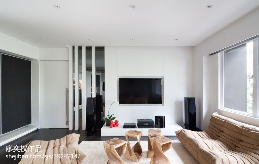 华丽627平现代别墅客厅装修装饰图客厅2图