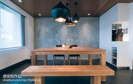华丽231平现代别墅餐厅图片大全厨房