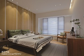 热门面积139平别墅卧室现代装修设计效果图片