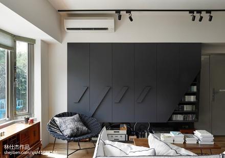 精美106平米三居客厅日式装修设计效果图片大全