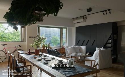 2018精选三居客厅日式装饰图