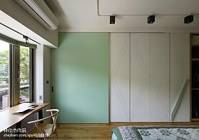2018精选95平米三居卧室日式装修图片卧室2图日式设计图片赏析