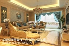古典欧式客厅装潢欣赏