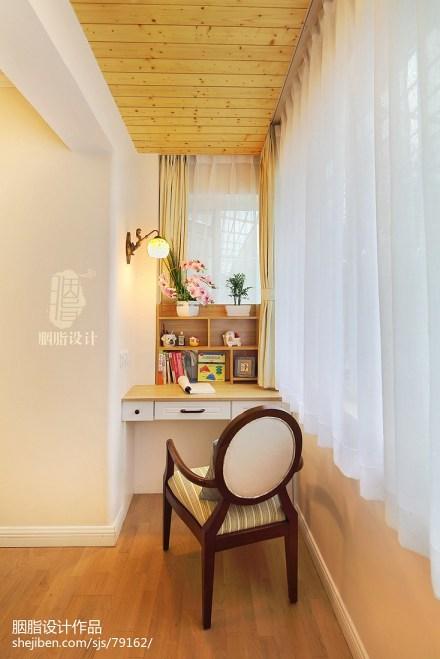 质朴118平美式三居卧室装饰图片卧室1图