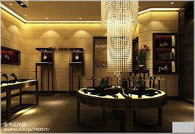 中式茶馆设计效果图