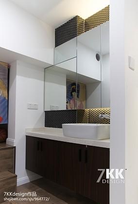 酒店式公寓炫酷黑白灰设计---…_2521477