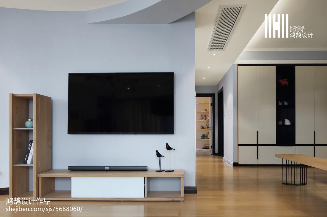 精美90平方三居客厅现代装饰图片大全客厅电视背景墙现代简约客厅设计图片赏析