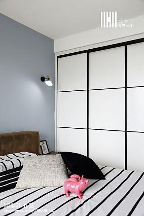 2018面积97平现代三居卧室装修欣赏图