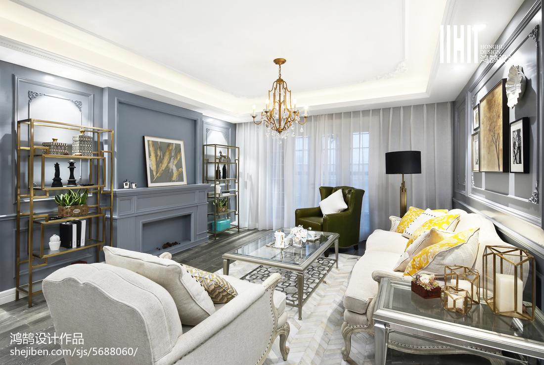 精美混搭风格客厅设计客厅潮流混搭客厅设计图片赏析