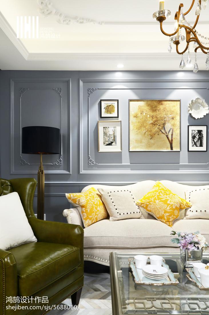 2018精选107平米3室客厅混搭装修实景图客厅潮流混搭客厅设计图片赏析