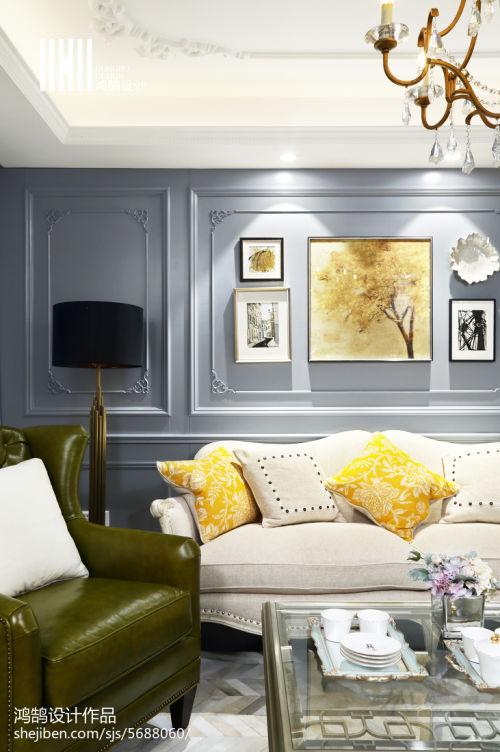 2018精选107平米3室客厅混搭装修实景图客厅沙发2图