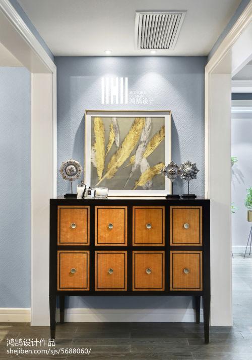 精选99平米三居玄关混搭效果图片欣赏玄关