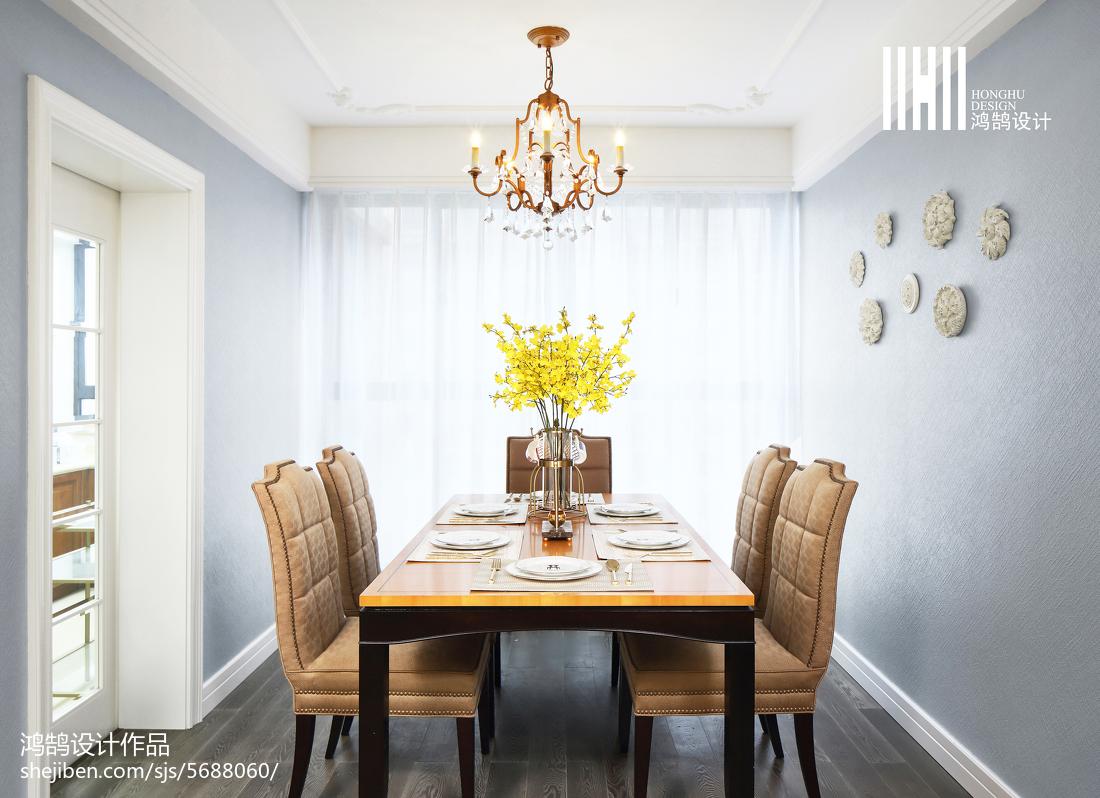 热门大小103平混搭三居餐厅实景图片欣赏厨房窗帘潮流混搭餐厅设计图片赏析