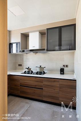 2018109平米三居厨房现代装饰图片大全