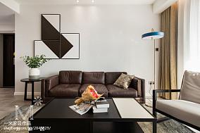 热门107平米三居客厅现代装饰图片欣赏