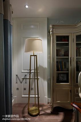 面积97平新古典三居书房装修设计效果图片欣赏