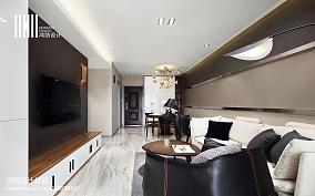 精美面积70平现代二居客厅装修实景图片二居现代简约家装装修案例效果图