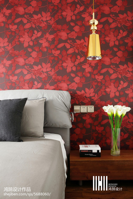 热门大小76平现代二居卧室装饰图片大全卧室
