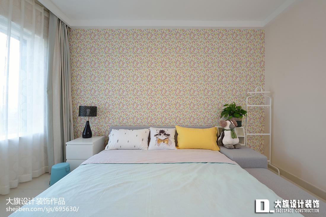 精美四居卧室宜家装修图片欣赏卧室现代简约卧室设计图片赏析