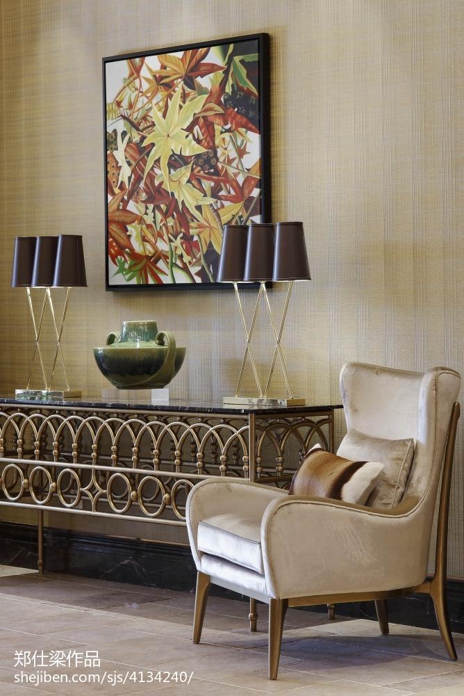 热门120平米混搭别墅客厅装修实景图片客厅潮流混搭客厅设计图片赏析