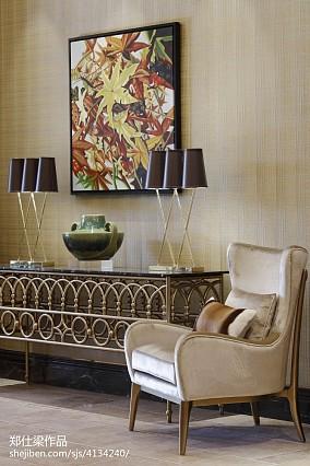 热门120平米混搭别墅客厅装修实景图片