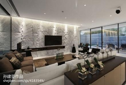 现代风格创意背景墙设计