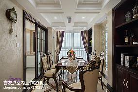 精选92平米三居餐厅新古典效果图片欣赏