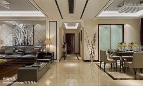 热门面积98平现代三居客厅欣赏图片