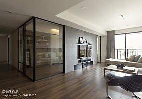 热门116平米四居客厅现代装修图片大全
