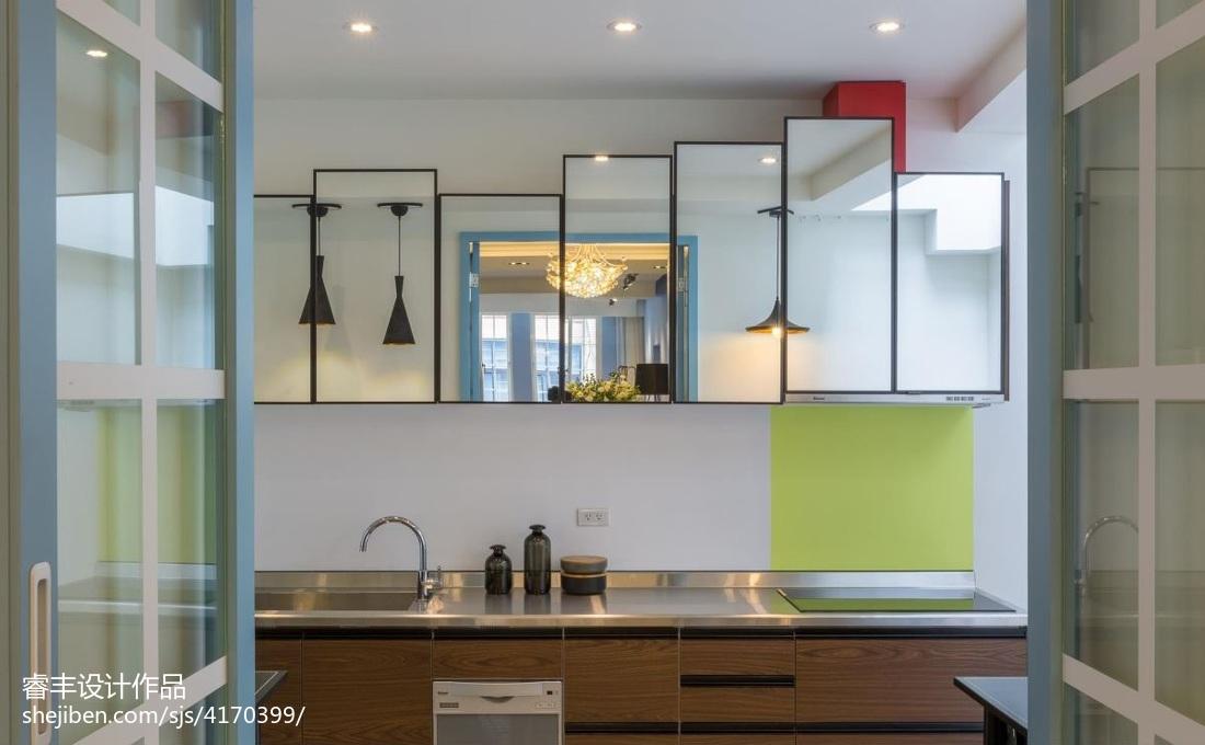 2018精选144平米四居卫生间混搭装修图片欣赏餐厅