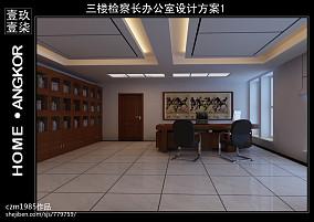 简美走廊文化背景墙效果图