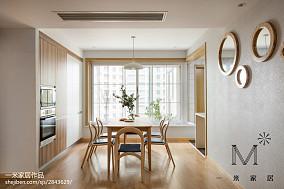 精美面积94平日式三居餐厅装修实景图片欣赏