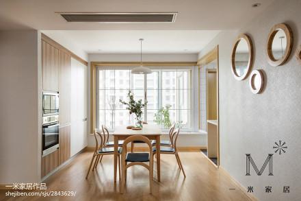 精美面积94平日式三居餐厅装修实景图片欣赏厨房