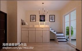 温馨走廊地板砖效果图