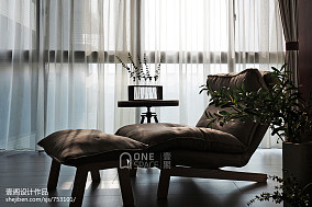 热门80平米二居阳台美式装修设计效果图片