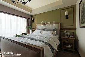 精美美式二居卧室装修设计效果图片大全