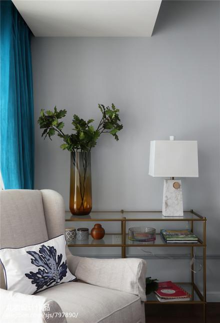 大气26平美式小户型客厅装饰图