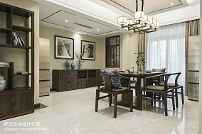 2018精选128平米四居餐厅中式装修实景图片