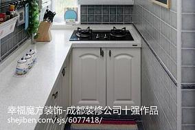面积80平小户型厨房欧式装修图片大全