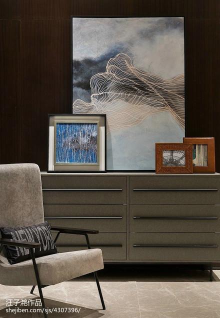 精美大小127平别墅客厅混搭欣赏图片