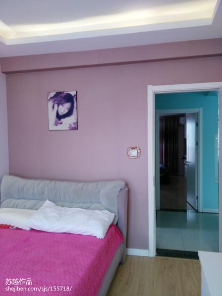 保利玫瑰湾实景卧室