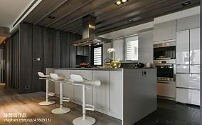 家装现代风格时尚吧台设计