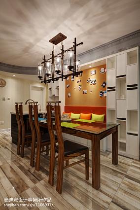 热门面积116平别墅餐厅现代装修设计效果图片大全