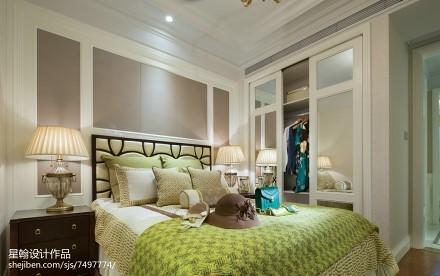 热门卧室现代实景图卧室