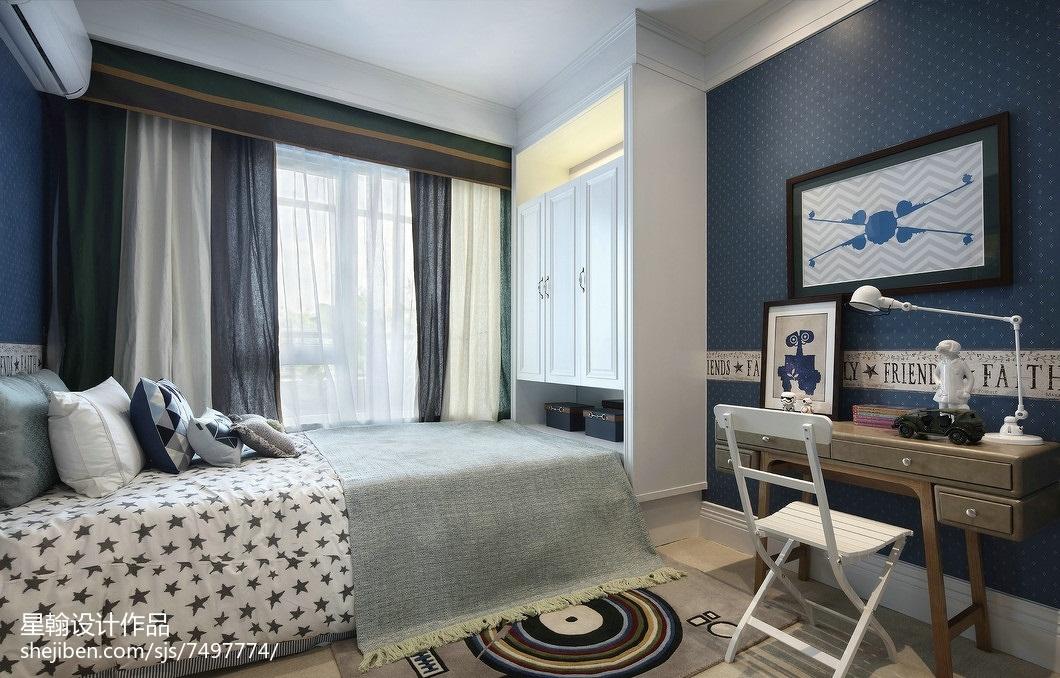 平米三居卧室现代装饰图卧室现代简约卧室设计图片赏析
