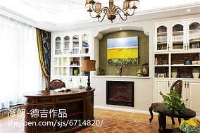 复古欧式客厅画效果图