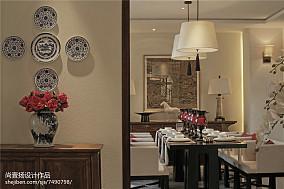 2018中式餐厅装修欣赏图片