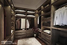 中式风格别墅衣帽间设计