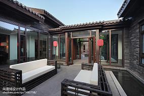 华丽440平中式别墅装饰图家装装修案例效果图