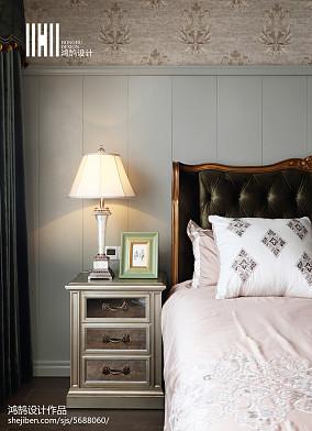 面积126平美式四居卧室装修欣赏图